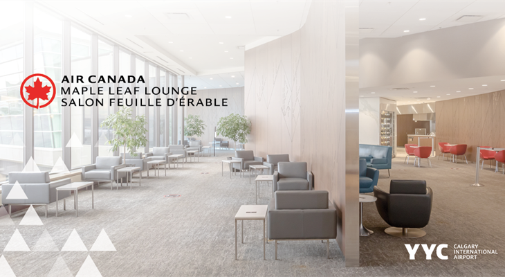 YYC Air Canada Maple Leaf Lounge Pass Giveaway // Cadeau de laissez-passer pour le salon Feuille d'érable d' Air Canada