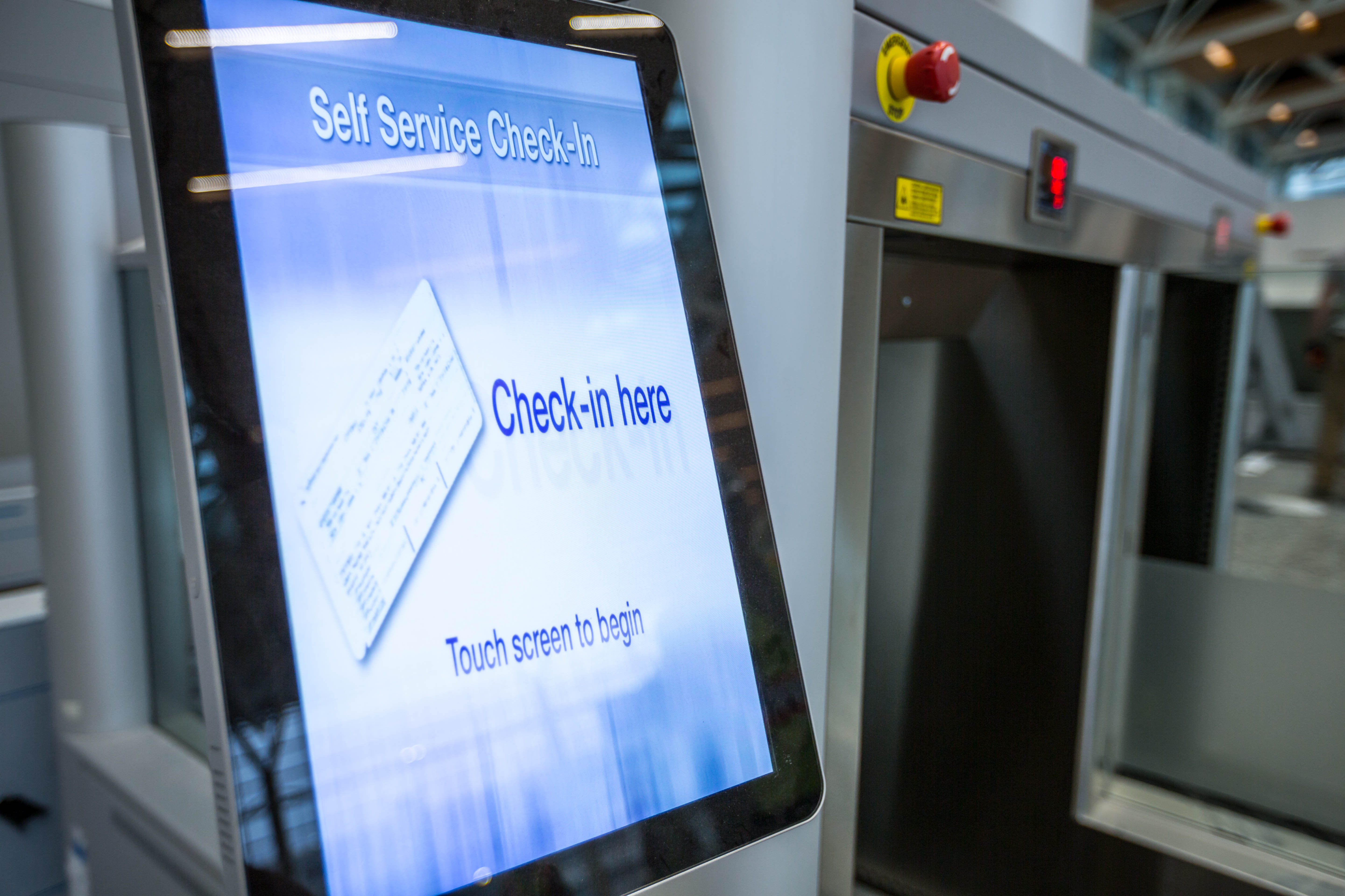 Fly Through Check In With Self Service Bag Drop