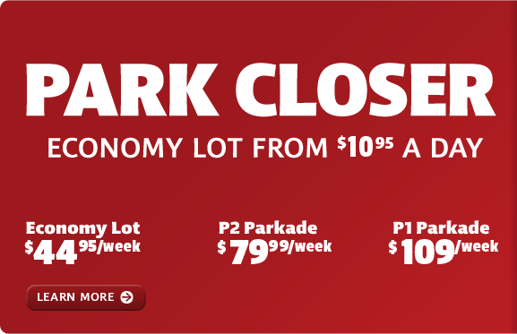 Economy lot from $9.95 a day.
