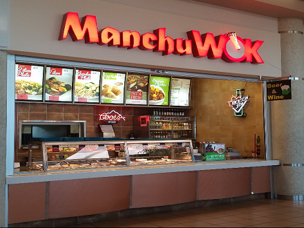 manchu wok authentic Chinese cooking, using the freshest ingredients