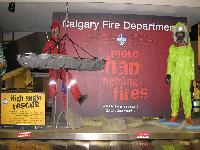 Calgary Firefighters Display
