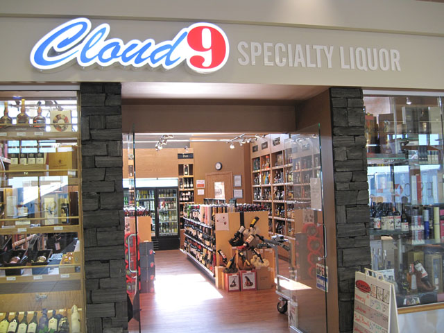 Cloud 9 liquor store