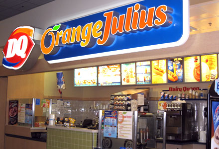 Dairy Queen and Orange Julius