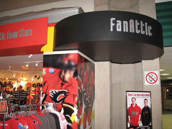 Flames FanAttic the official retailer for the Calgary Flames Hockey club